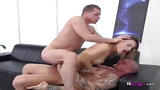 Hottie Ambika Gold Enjoys Big Cocks In Her Holes