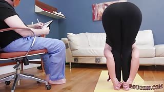 Teacher rough sex and two girls domination first time Ass-Slave Yoga