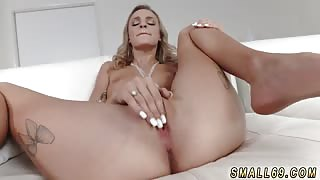 Teen solo machine hd and back casting couch creampie Tiniest In The