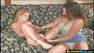 Bisexual Girls In A Threesome