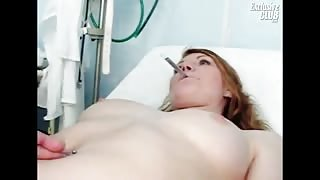 Alluring Helga Gets Her Vagina Observed By Specialist