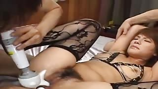 sexy asian bottom fucking with lingerie