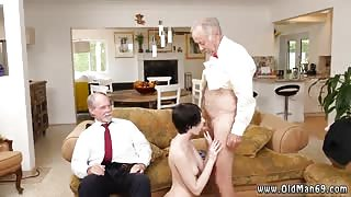 Old anal creampie gangbang Frankie heads down the Hersey highway