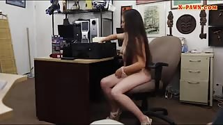 Sexy ex dominatrix smashed by pawn man in the backroom