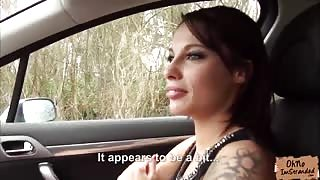 Stranded Nikita Belucci accepts a lift in a strangers car