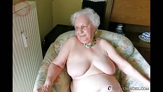 OmaGeiL Amateur Granny Slideshow Photos Collection