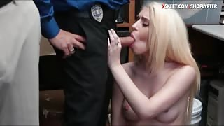 Joseline Kelly caught stealing and banged by LP officer