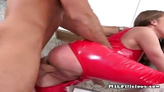 Hot Lady Aria Gets Fucked By The Pool Boy