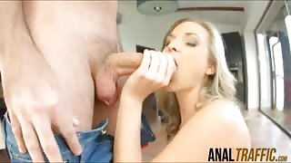 Blue eyed stunner Vinna Reed gets her perfect ass ruined