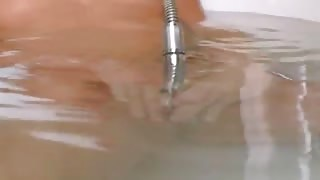 Petite lithuanian girl in the hot bath