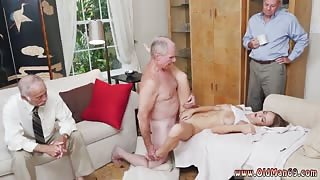 Old and old grandpa creampie young Molly Earns Her Keep