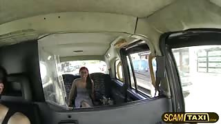 Sexy Brazilian babe gets a Scottish cock in the backseat and pounds her hard
