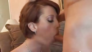 Mature wife services and screws meaty rod