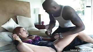 Raquel Devine Fucked By Black Cock