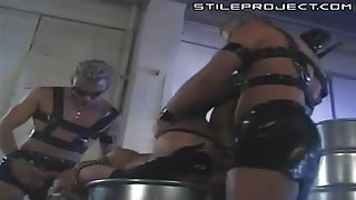 Sharka Blue - Threesome - Fetish Desires and double penetration