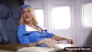 Booby Helly Mae twat nailed in the plane