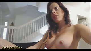 Big Titted Babe Gagging And Machine Fuck