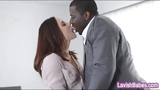Hot pornstar Chanel Preston pussy fucked by black boner