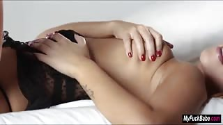 Russian Jenny Apach plays with her pussy