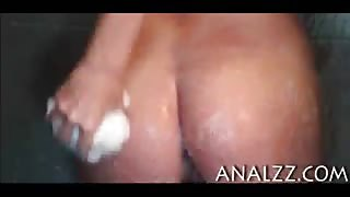 Kinky blonde girlfriend asshole fucked at home while being filmed