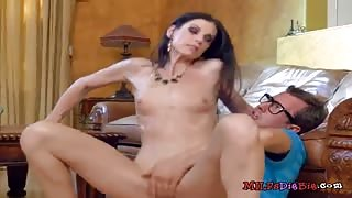 Mature Babe India Summer Sucks And Rides IT Guy