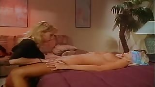 Two Lovely Blonde Girls Worship One Another's Pussies