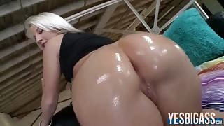 Perfectly round assed Kimmy Olsen anal