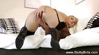 Pretty Blonde Fucked By Bf