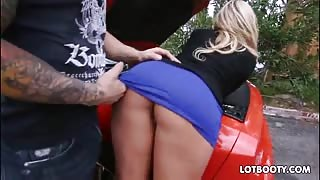 Beautiful phat butt blonde milf Olivia Austin gets fucked