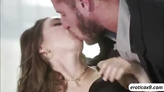 Apartment sex action with Riley and her boyfriend