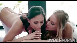 My yoga teacher is a very horny whore, in the classes plays whit  my big cock