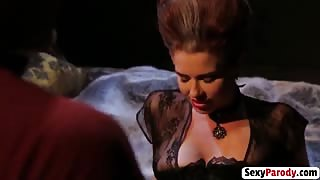 Axel Braun and Veronica Avluv sex with Cinderella in the castle