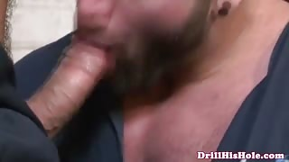 Homosexual likes barebacking and facial cumshot
