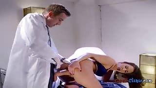 Medical Student Amirah Adara Enjoys Doctors Cock