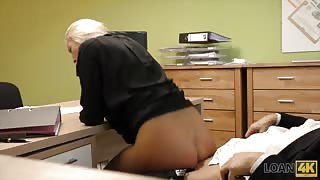 sex pest colleague gets fucked at work