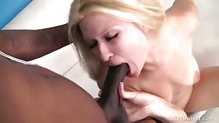 Sadie Sable Swallows And Hammers Throbbing Dark Rod