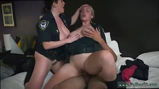 Blonde milf anal threesome noise complaints