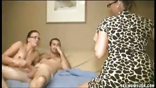 Stacie Starr and JC Simpson Mother Daughter Sucking