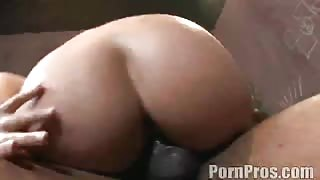 Luscious Lopez sucks and pounds black package