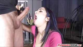 Nasty babe Julia De Lucia asshole rammed in many positions