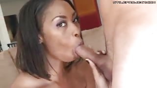 Jordin Skye - tasting the white dick