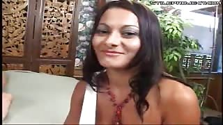 cute euro slut fucked in the pussy and asshole hard!
