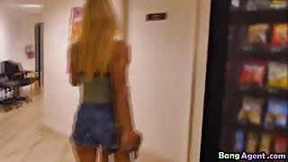 Blonde Teen Uma Jolie Banged By Agent In Office