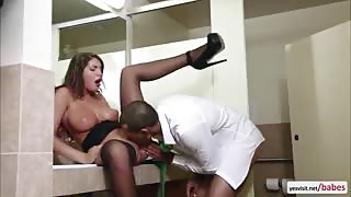Brunette August Ames spends an unforgettable erotic afternoon quickie