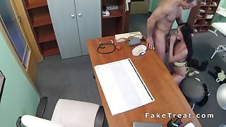 Doctor fucks tattooed patient