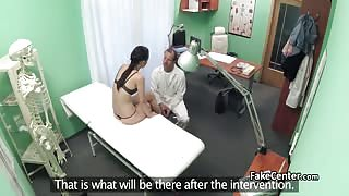Babe wants her pussy inspected