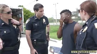 Blonde driver first time Black suspect taken on a raunchy ride