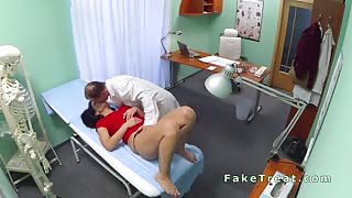 Doctor eats and bangs patient in fake hospital