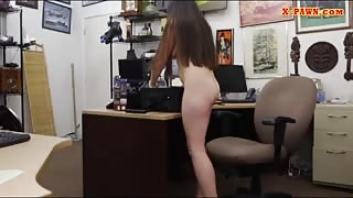 Ex dominatrix banged by pervert pawn guy in his pawnshop