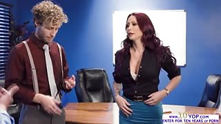 A heated groupsex with sexy big assed babe Monique Alexander